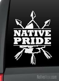 Native Pride Arrows And Arrowhead Native American Decal Etsy Computer Decal Pride Nativity