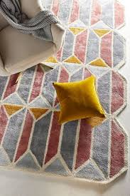 best geometric rugs shapes other than