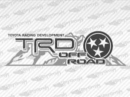 Toyota Trd Off Road Mountain Tennessee Decal