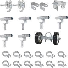 Amazon Com Fence Rolling Gate Hardware Kit Residential Chain Link Parts Home Improvement