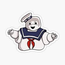Stay Puft Stickers Redbubble