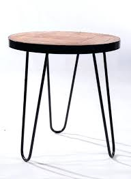 round small coffee tables oak with