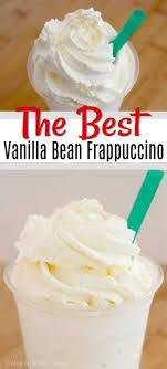 starbucks vanilla bean frappuccino