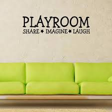 Playroom Vinyl Wall Decal Home Decor Children S Room Toy Room Bedroom Art Mural Wallpaper Removable Wall Stickers Wall Sticker Removable Wall Stickersvinyl Wall Decals Aliexpress