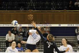 Ava Bell volleyball vs Duke - The Daily Tar Heel