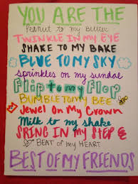 homemade b day cards for best friend google search bff