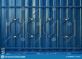 Architectural Decorative Exterior Metal Fence Metal Gates Forged Pattern Stock Image Image Of Blacksmith Barrier 166806685