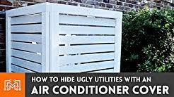 Unit Outdoor Fence Ac