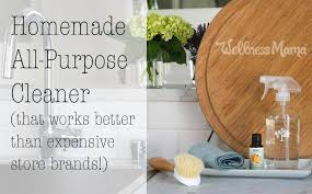 homemade all purpose cleaner recipe