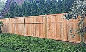 Cedar Tongue Groove Campanella Fence