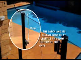 12 Protect Your Pool Protect Your Kids Pool Fence Gate Latching Device Location Youtube