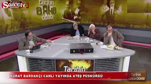 Murat Bardakçı canlı yayında ateş püskürdü - Dailymotion Video