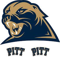 Ncaa Pittsburgh Panthers College Logo Wallmarx Accent Decal Walmart Com Walmart Com