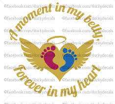 Pregnancy Loss Decal Car Decal Car Sticker Infant Loss Etsy