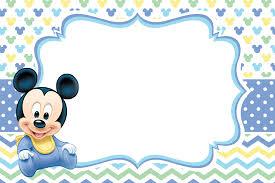 Pin En Bebe Mickey