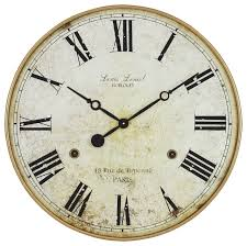 leniel large wall clock transitional