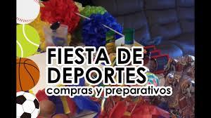 Fiest Infantil De Deportes Pelotas Preparativos Y Compras Para