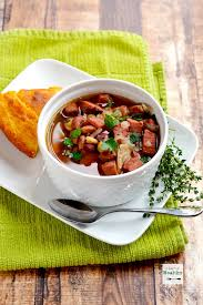 ham and 15 bean soup slow cooker or