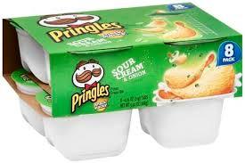 pringles sour cream onion snack