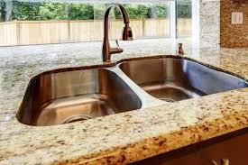 how to clean granite countertops gold