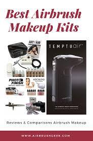 airbrush makeup system parison