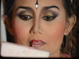 balinese dance makeup behind the scenes