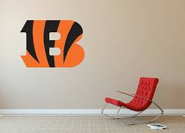 Cincinnati Bengals Nfl Wall Logo Vinyl Decal Sticker Wall Decal Sa173 Ebay