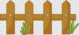 Brown Wooden Fence Cartoon Comics Drawing Fence Angle Landscape Grass Png Klipartz