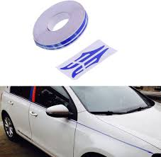 Amazon Com Pme 12mm 0 5 Pinstripe Pinstriping Pin Stripe Decals Vinyl Tape Stickers For Cars Light Blue Sticker Automotive