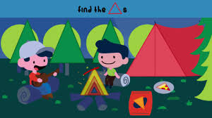 A Camping We Will Go   Kids Song   Kids Game   The Kiboomers   Learning    Games kindergarten - YouTube