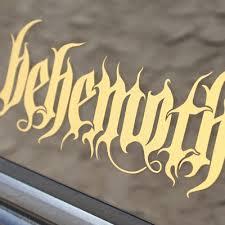 Gold Logo Decal Valhalla Merch