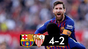 Sevilla vs Barcelona 2−4 │All Gоals Hіghlіghts │Hat Trick MESSI ...