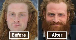 men look better with beards