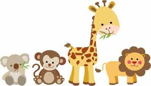 Jungle Animal Wall Decal Nursery Wall Decal Animal Wall Decal Baby S Room Decor Vinyl Wall Decals Home Decor Art Baby Animal Decals