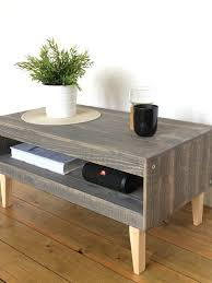 coffee table side table low storage