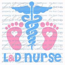 Landd Nurse Labor And Delivery Baby Infant Vinyl By Lilbitolove On