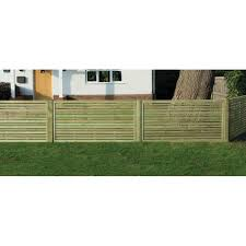 Slatted Fence Panel 1800mm X 900mm Worcester Timber Products