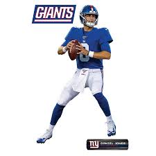 Fathead Daniel Jones New York Giants 3 Pack Life Size Removable Wall Decal