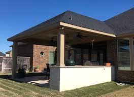 build a concrete patio in houston