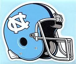 Amazon Com North Carolina Tarheels Football Helmet Vinyl Decal Tar Heels Car Sticker Unc Automotive