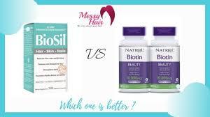biosil vs biotin which one is better