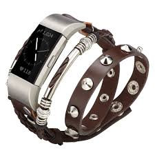 double tour leather strap wrist watch