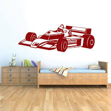 Race Car Wall Decal Kids Sports Car Stickers Trendy Wall Designs