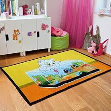 Amazon Com New Adorable Kids Area Rugs Soft Kid Rug For Playroom Famous Tom Jerry Cartoon Carpet Large 5x7 Kid Rugs For Girl Boy Furniture Decor
