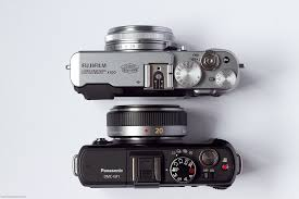 Fujifilm X100 vs Panasonic GF1 with ...