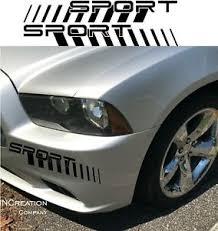 Fits Chevy Camaro Fender Vinyl Sport Logo Decals Racing Sticker Bumper Graphics Ebay