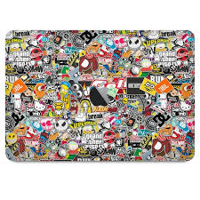Sticker Bomb Skin For Macbook Pro 13 2019