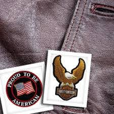Biker Vest Patches Blaze Leather
