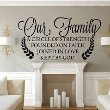 Family Wall Decor Our Vinyl Decor Wall Decal Customvinyldecor Com