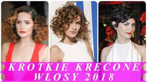 Top 15 Krotkie Fryzury Dla Kreconych Wlosow 2018 Youtube